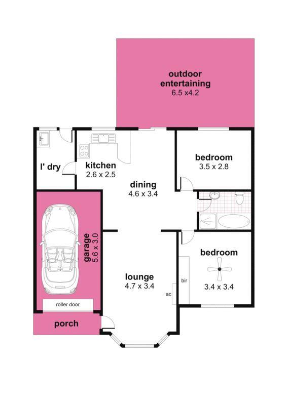 農村普通房子平面設計圖展示