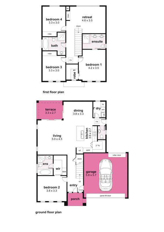 四间房子一楼构造设计图