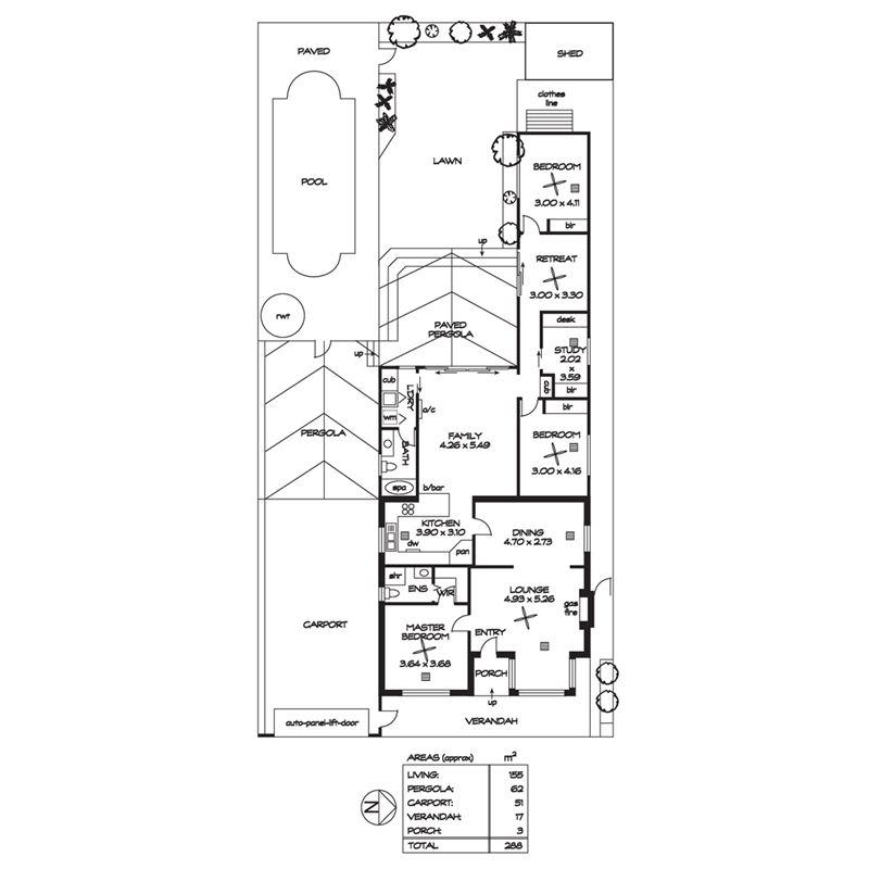一二楼平面商铺房子设计图展示