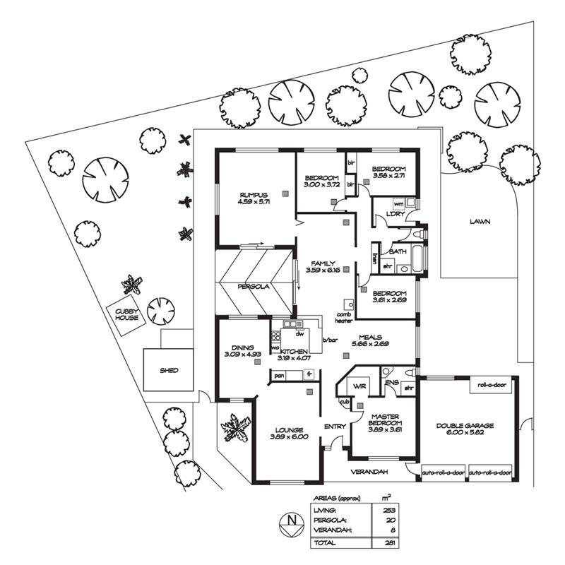 一层半平顶房子设计图展示