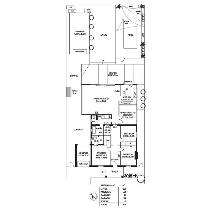 房子平面图用比例尺画