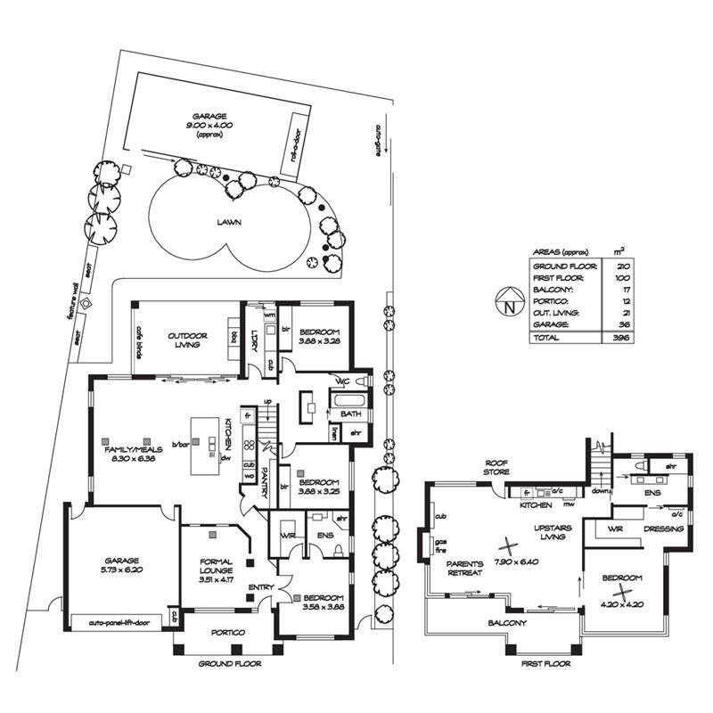 农村房子长方形设计图展示