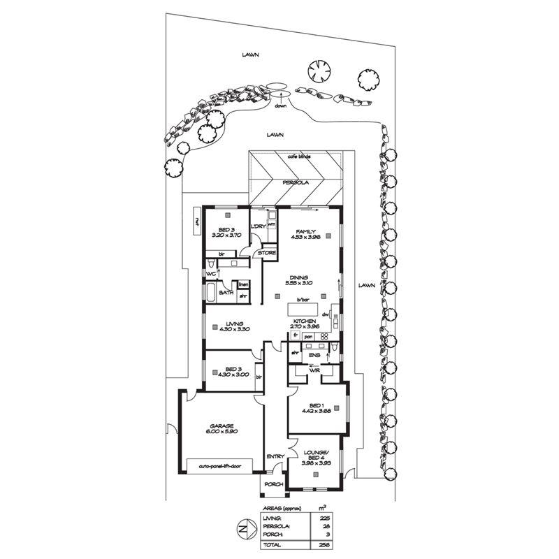 房子平面结构图