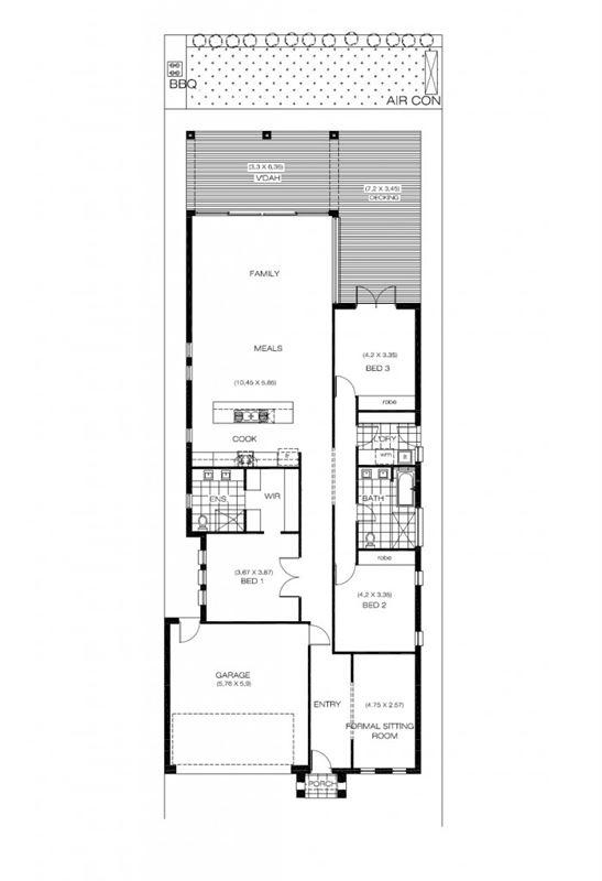 62平正方形房子格局设计图展示