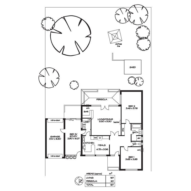 七十几平米房屋设计图
