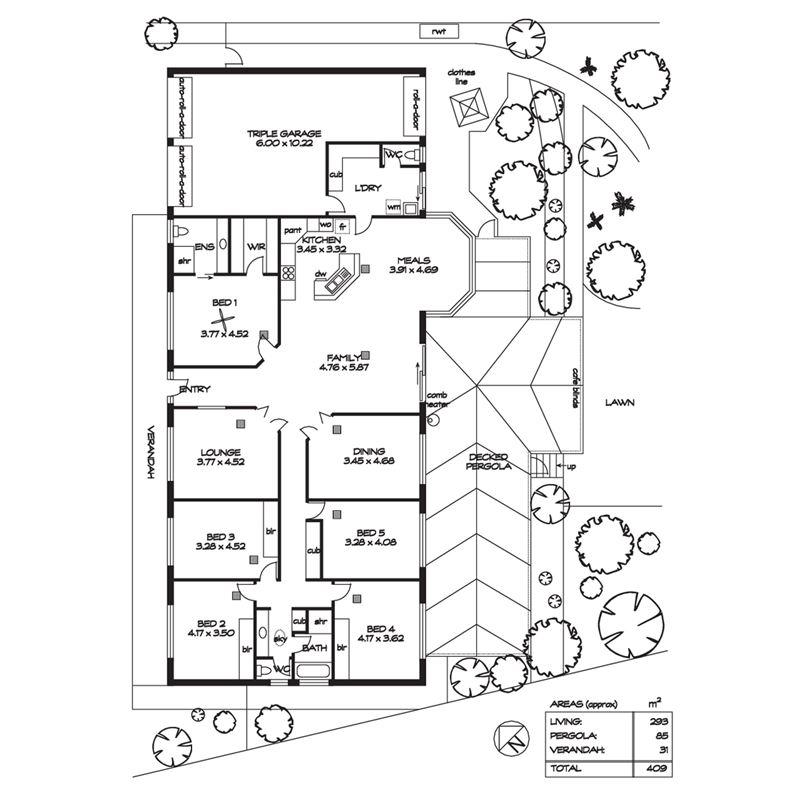 房子平面图